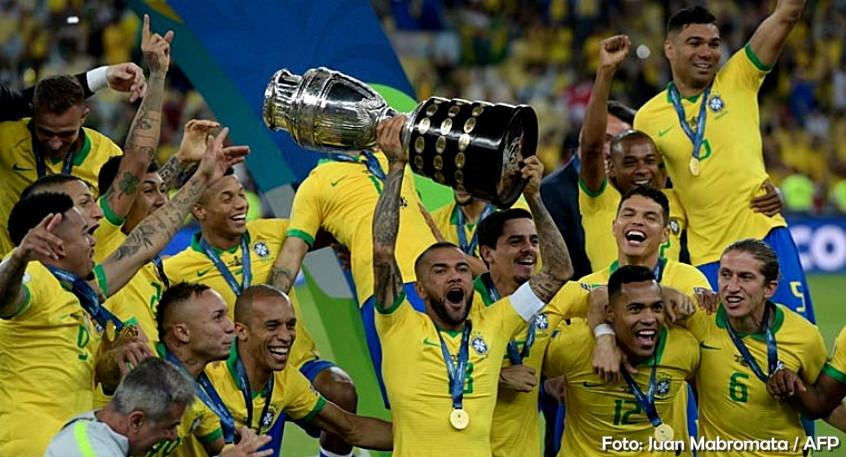 Brasil bate o Peru por 3 a 1 e é campeão da Copa América 2019