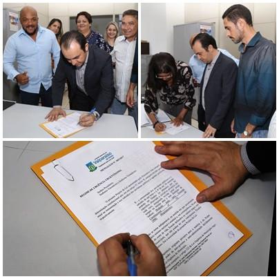 Valparaíso – Prefeito encaminha ao legislativo o Projeto de Lei que aumenta os salários dos servidores.
