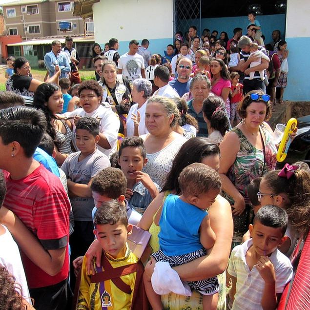 Natal Solidário em Valparaíso