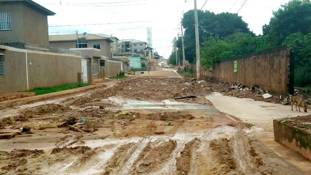 Prefeitura de Valparaíso inicia ações emergenciais no Setor de Chácaras Anhanguera