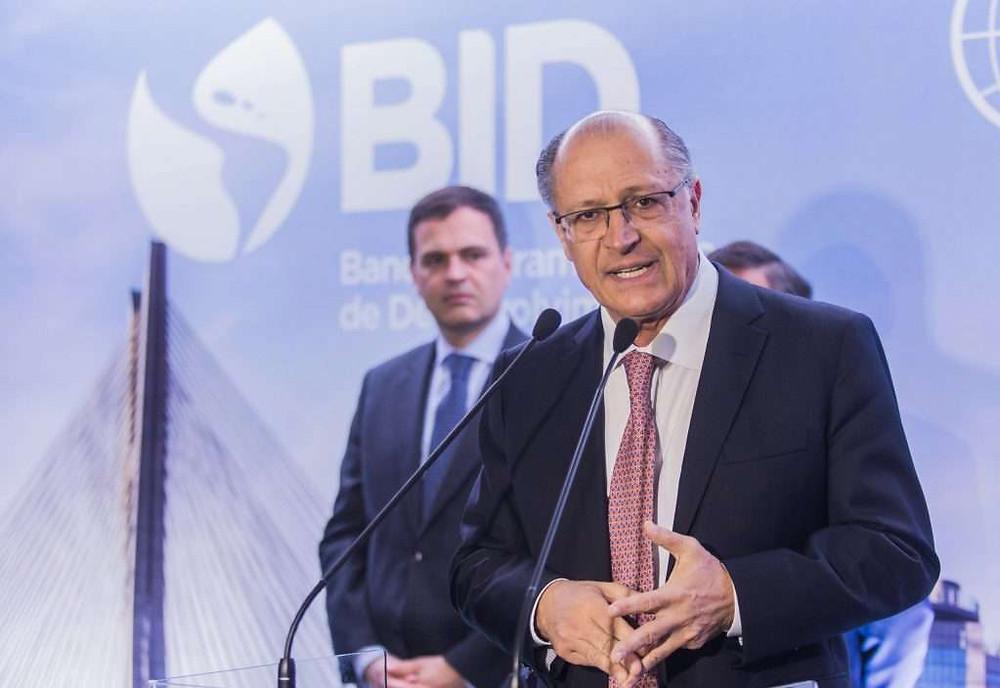 """""""Habemus Candidato"""", disse Alckmin sobre sua confirmação como candidato a presidente pelo PSDB"""