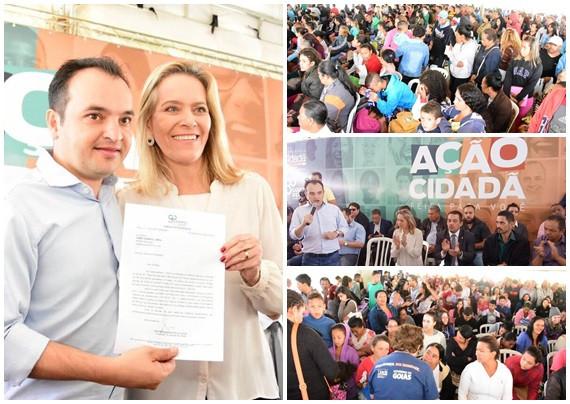 Valparaíso - Parceria entre Leda Borges e Pábio Mossoró traz atendimento à milhares de cidadãos