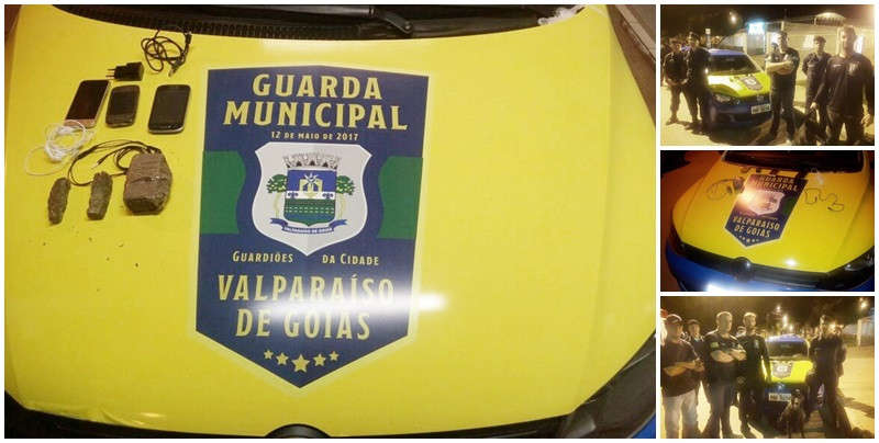 Guarda Municipal de Valparaíso intercepta Celulares e Drogas que iriam para presídio