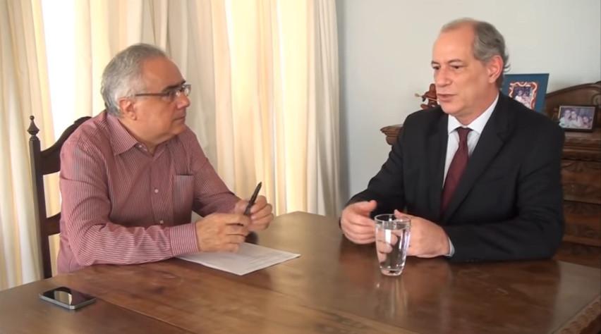 Ciro Gomes ameaça receber equipe do juiz Moro a bala, caso queiram prende-lo