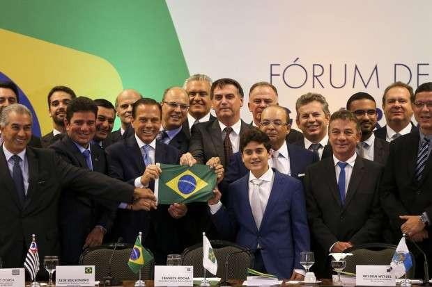 Bolsonaro pede apoio à governadores eleitos para aprovar medidas consideradas amargas