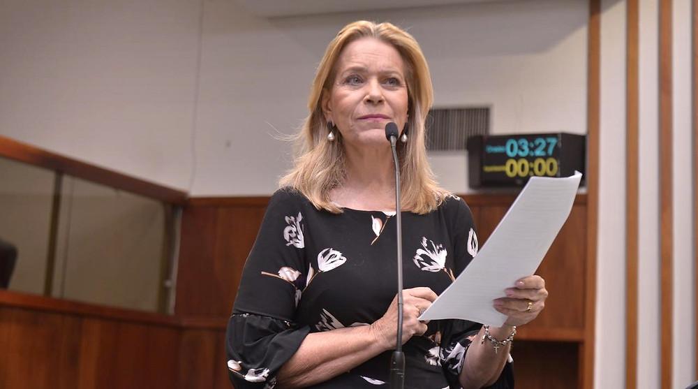Lêda Borges pede suspensão de projeto que prevê venda de 49% das ações da Saneago