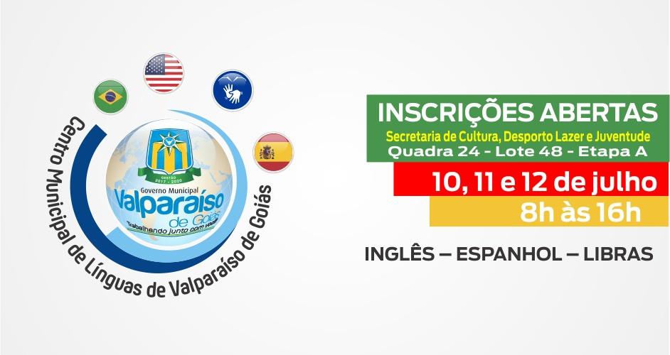 Prefeitura Municipal de Valparaíso abre inscrições para cursos gratuitos de Inglês, Espanhol e Libras