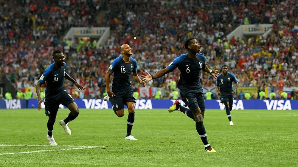França vence a Croácia e se iguala à Argentina e Uruguai como Bicampeã do mundo