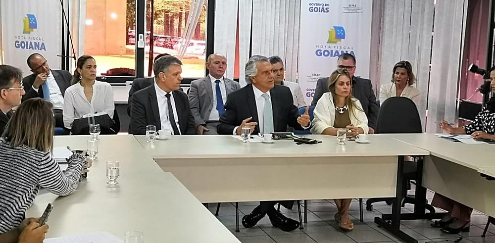 Relatório da STN desmente Caiado, diz que a situação de Goiás não é ruim como ele diz, por isso nega o Regime de Recuperação Fiscal para o estado
