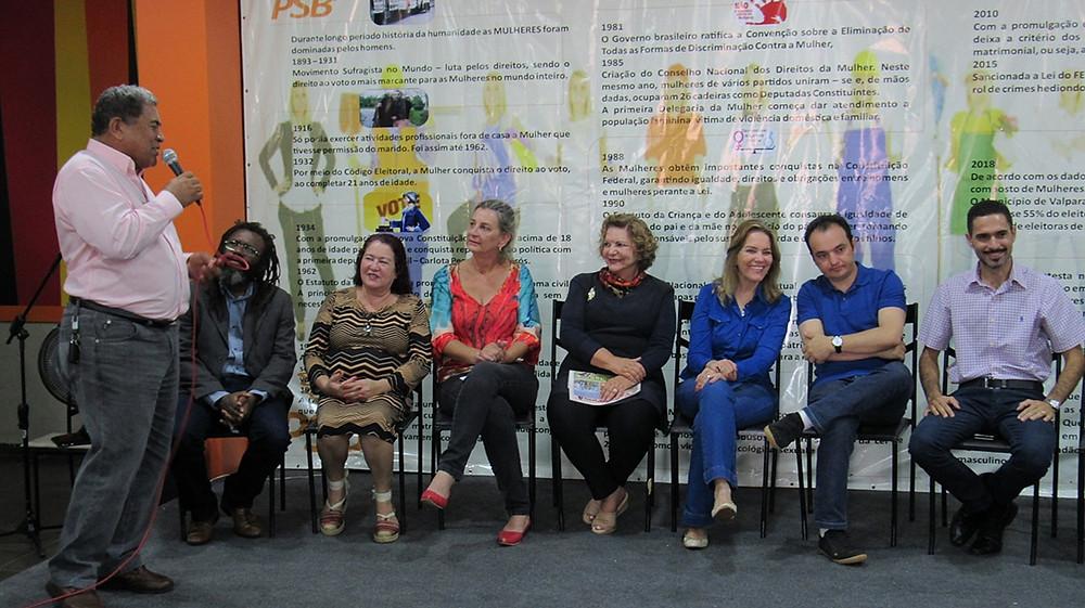 PSB de Valparaíso destaca senadora Lúcia Vânia e deputada Leda Borges em homenagem às mulheres