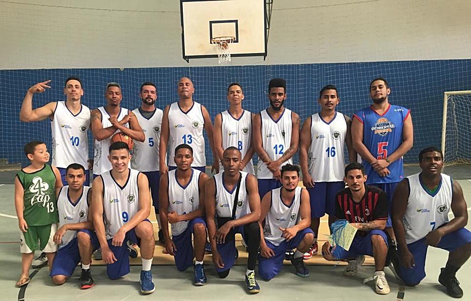 Time de Basquete com atletas de Valparaíso e Cidade Ocidental é Campeão Regional dos Jogos Abertos de Goiás