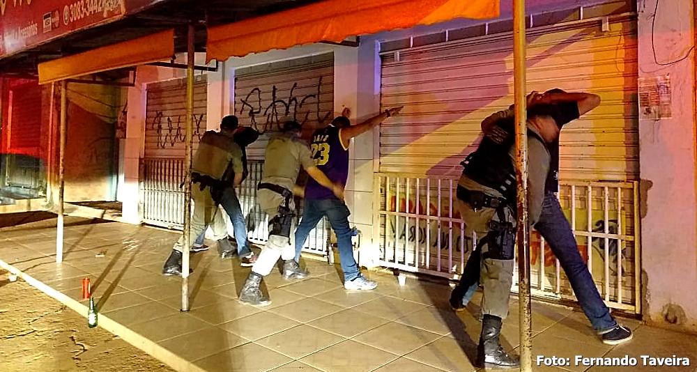 Forças de segurança vão às ruas de Valparaíso em mais uma Operação Madrugada Viva