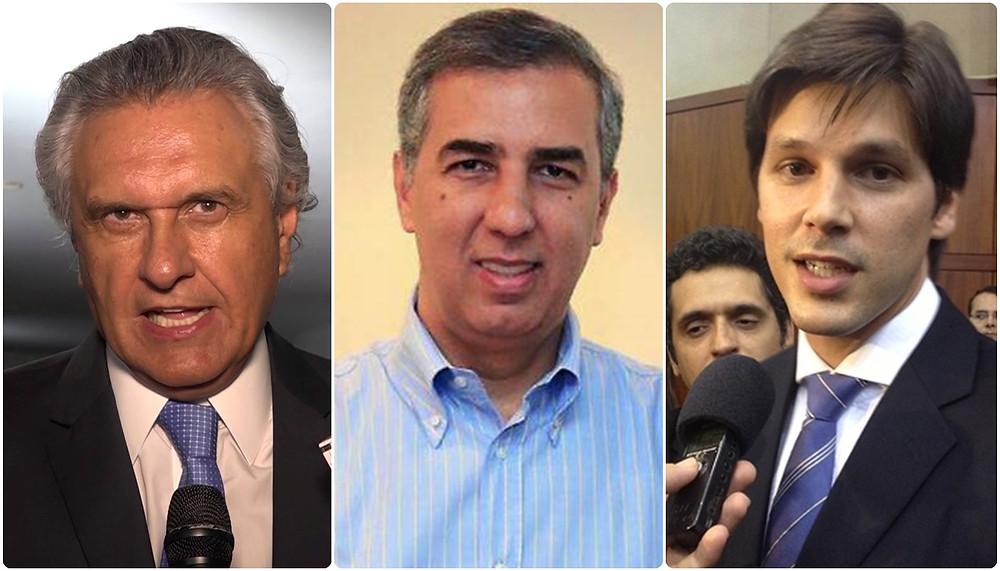 Eleições 2018 - Em Goiás Caiado tem 34%, Zé Eliton 25% e Daniel Vilela 10%, aponta pesquisa Directa