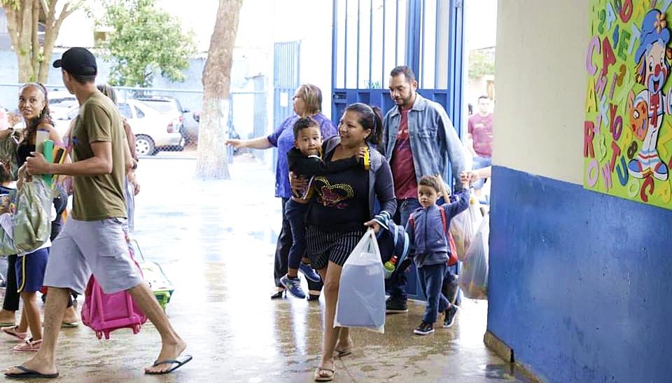 Em Valparaíso, cerca de 26 mil alunos da rede pública municipal voltaram às aulas