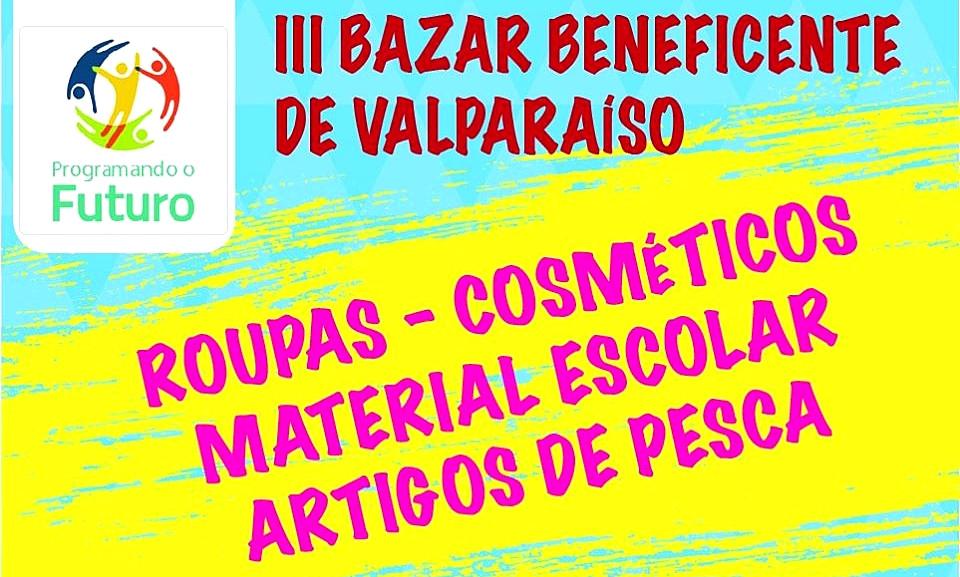 Oportunidade - Começa hoje em Valparaíso o Grande Bazar de produtos apreendidos pela Receita Federal (Roupas, Material Escolar, Cosméticos e Equipamento de Pesca)