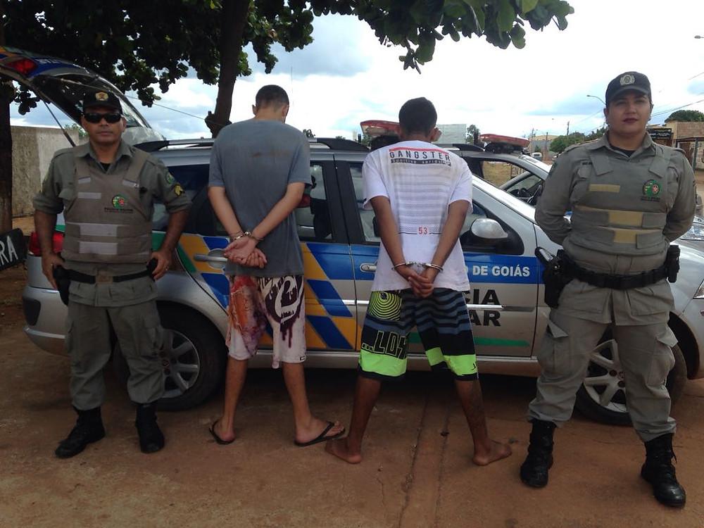 Polícia Militar de Valparaíso funciona e prende assaltantes de Drogaria no Céu Azul