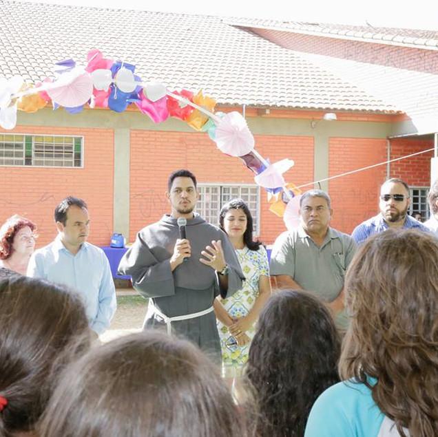 Inaugurada quadra do Arminda Mattos