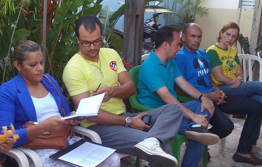 Reunião com Pábio Mossoró e Carlos