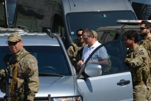 Joesley e Saud chegam a Brasília e já estão em suas celas