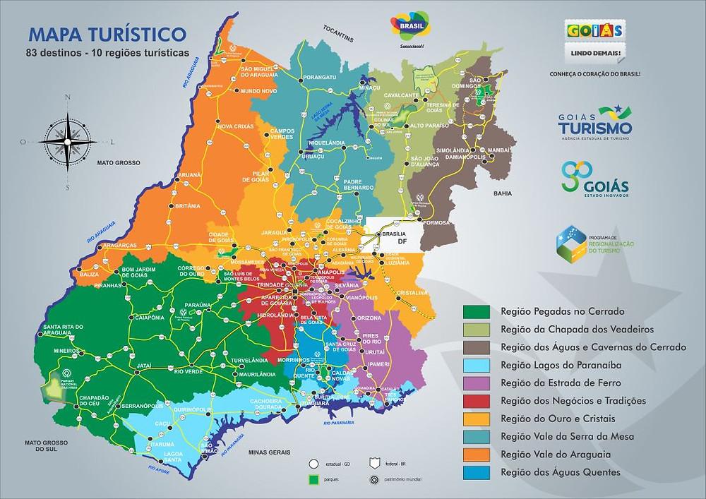 Ministério do Turismo ratifica entrada de Valparaíso em novo mapa do turismo goiano