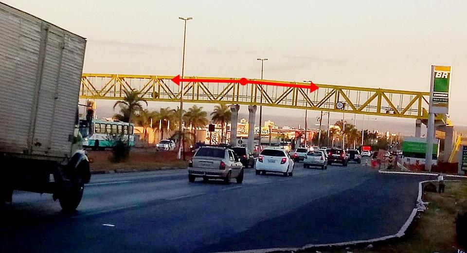 Ângulo da nova passarela entre Cidade Jardins e Parque São Bernardo faz parte do projeto. Entenda