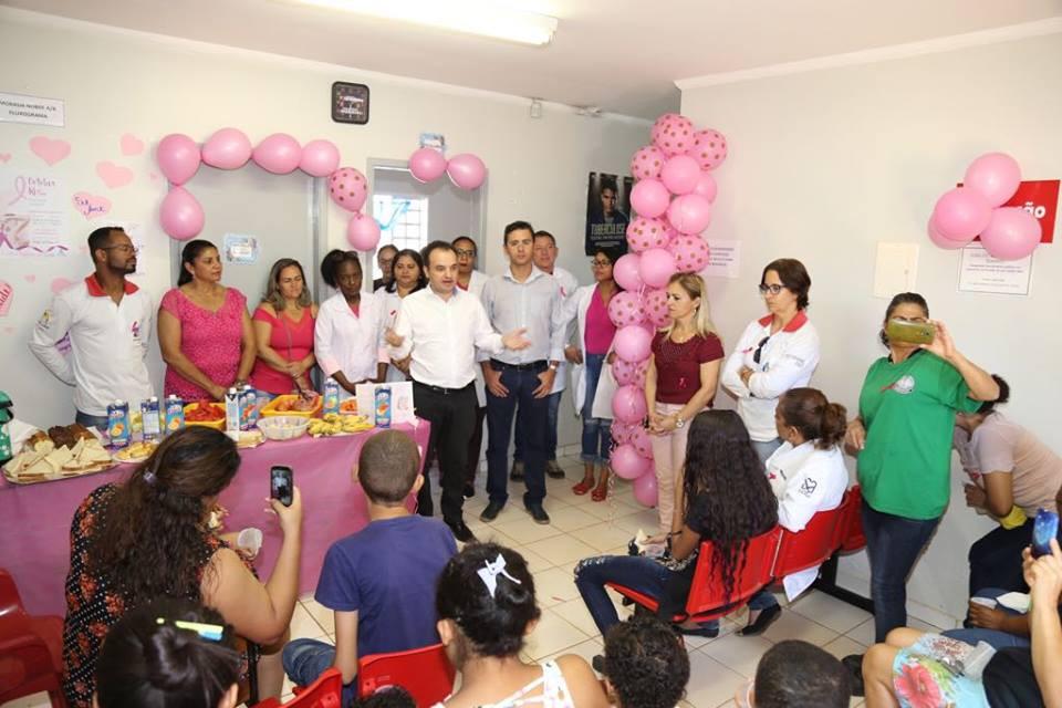 """Valparaíso – Governo Municipal fortalece """"Outubro Rosa"""" e amplia prevenção contra o câncer"""