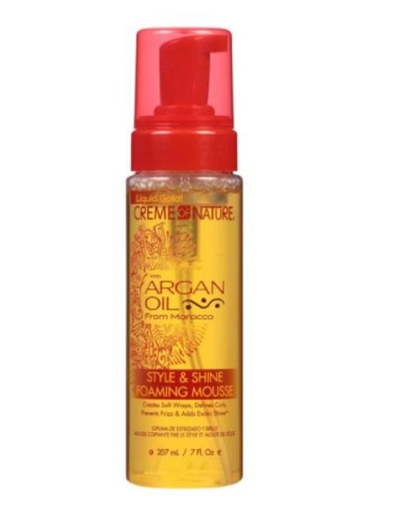Cream of Nature ARGAN OIL FOAM WRAP