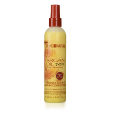Cream of Nature ARGAN OIL Leave-In Conditioner