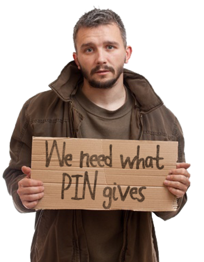 We Need What PiN Gives