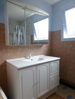 Les Hirondelles salle de bain