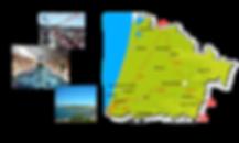 Carte et activités