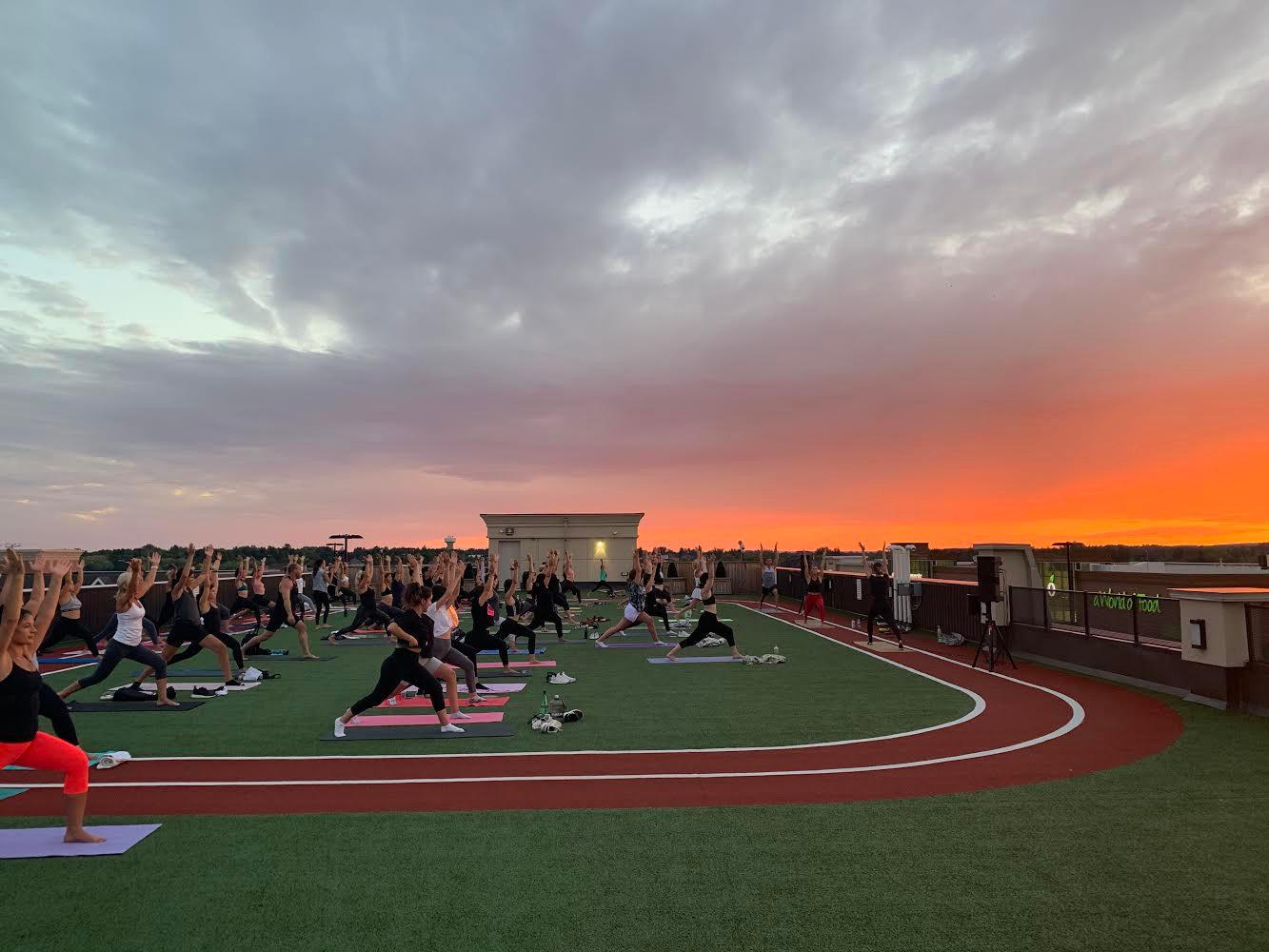 Sunset Yoga Class
