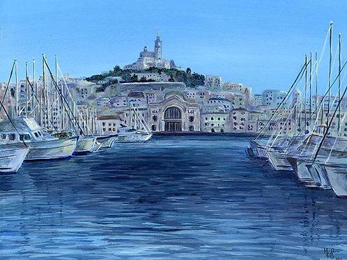 Print of Marseille