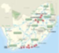 Caballo barefoot trimer map Johannesburg