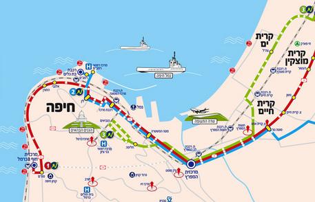 Haifa's Bus Rapid Transit (BRT) Project