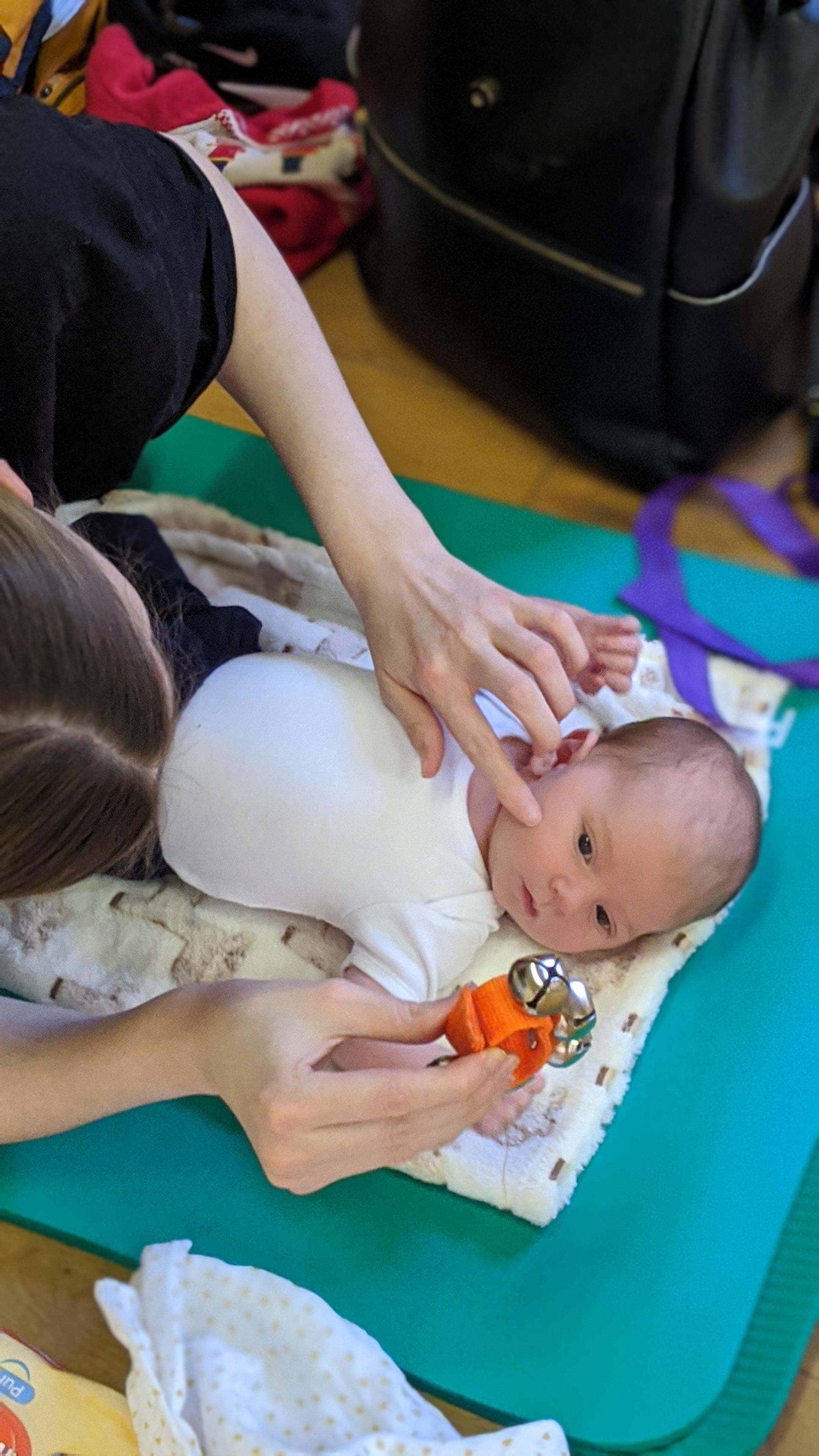 Tuesday Baby massage Tyldesley Jul/Aug