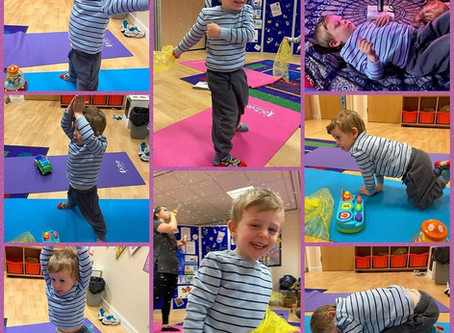 Toddler yoga in Tyldesley, Manchester