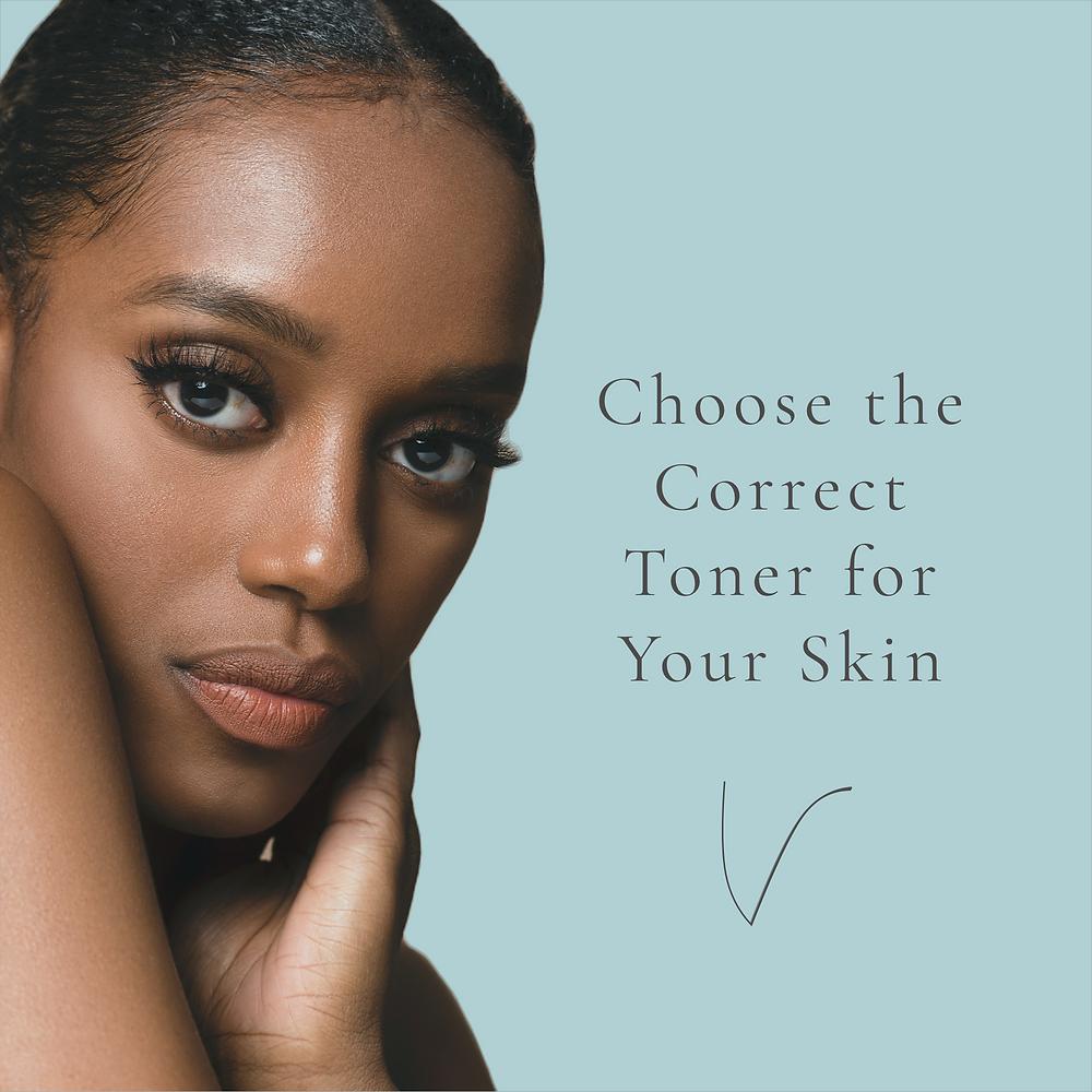 Black woman with beautiful skin