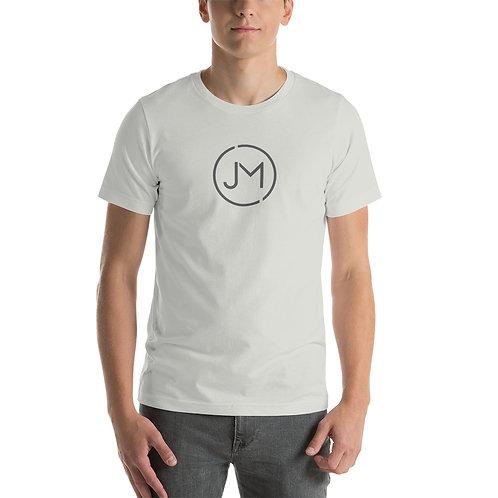 JM Gray Logo Short-Sleeve Unisex T-Shirt