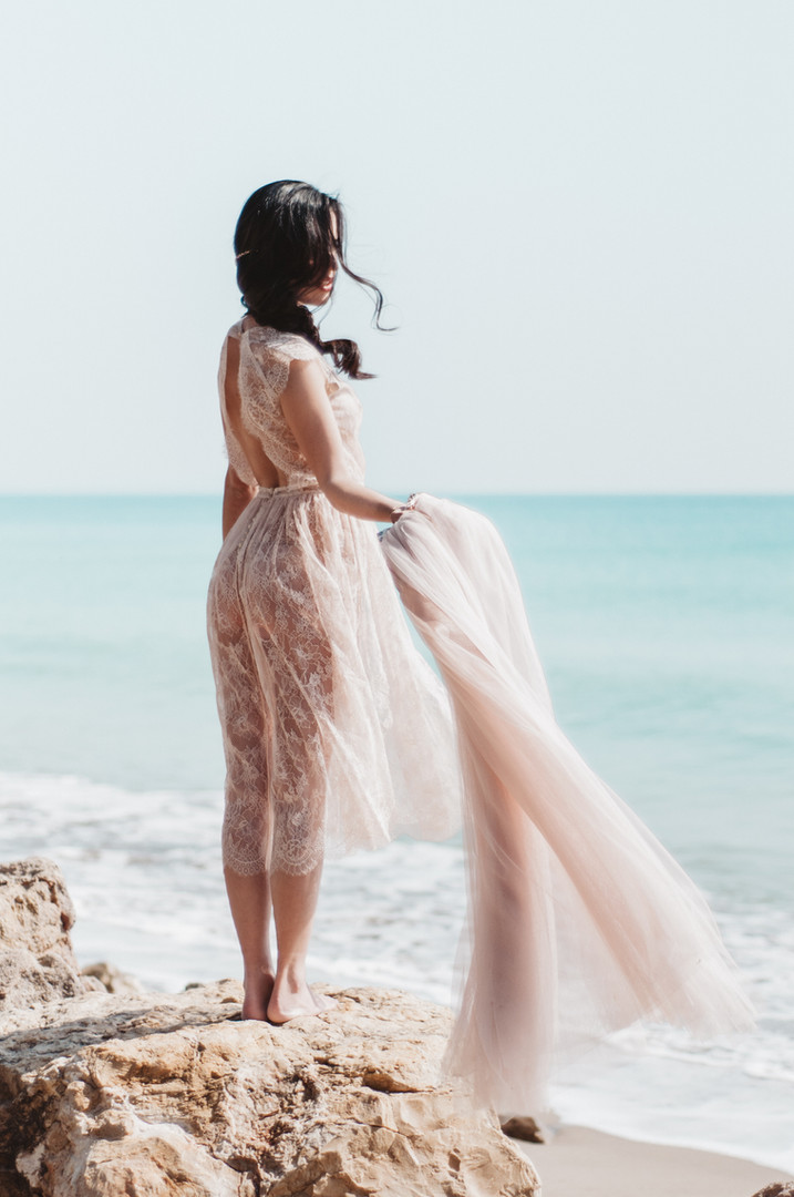 Beach Wedding Pink