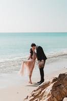 Beach Wedding Pink