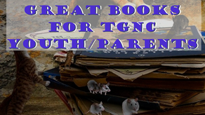 Great Books for TGNC Youth/Parents