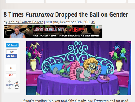 New Video and I'm on The Mary Sue!