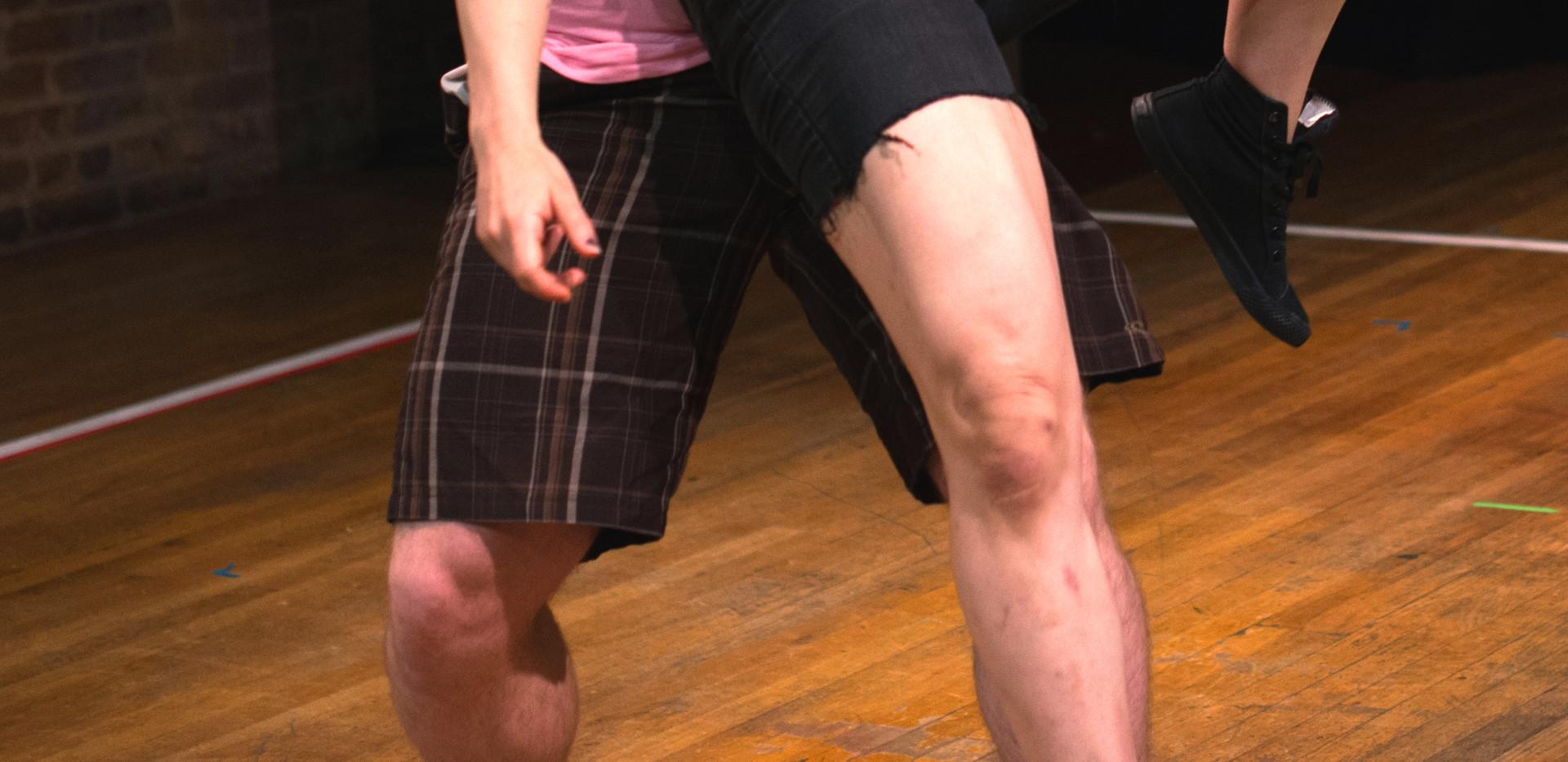 Broseph Ballin' crushe's MX Punk's ribs