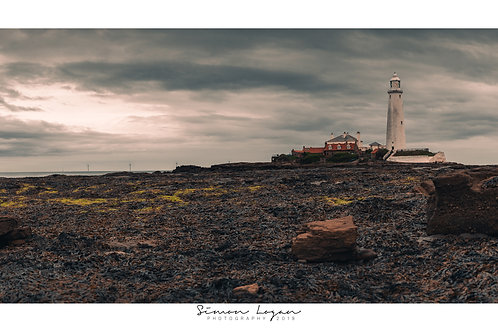 St Mary's Lighthouse, Whitley Bay - Northumberland.
