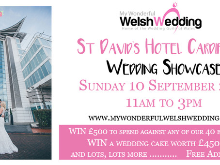 St David's Hotel Wedding Showcase - pre register for FREE TICKETS