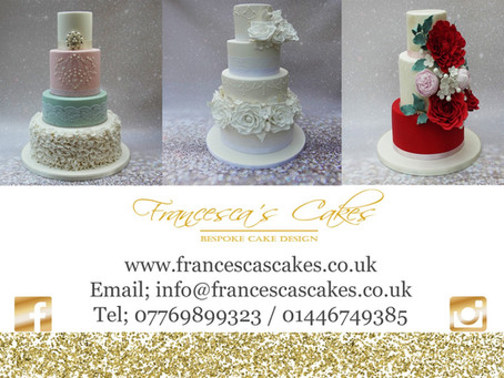 Guest Blog From Francesca's Cakes