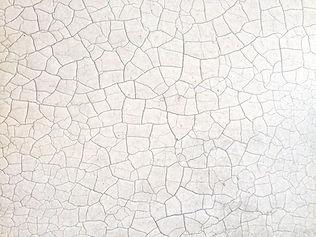 Surface fissurée