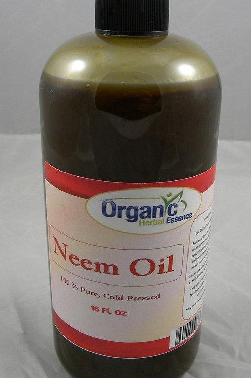 Neem oil 100% pure cold pressed - 8 oz