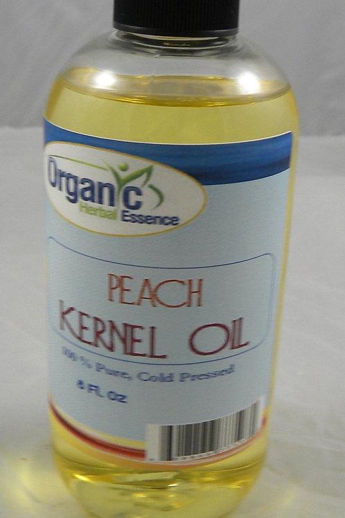 Peach Kernel Oil - 100% Pure 8 Oz